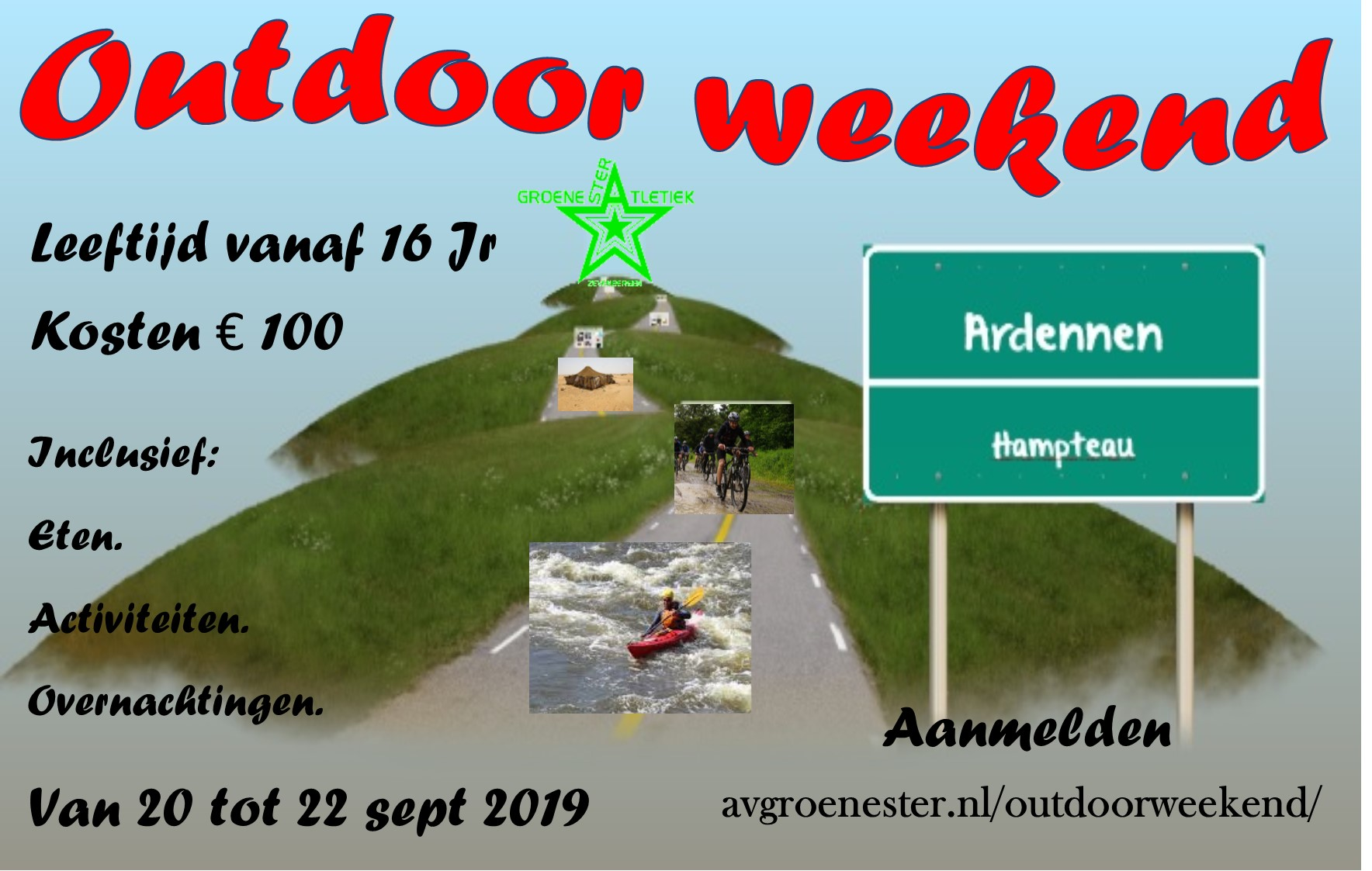 Flyer Outdoor Weekend 2019